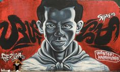A boy sits before a wall painted with a street art featuring Philippine working class hero Andres Bonifacio at an overpass in Manila on January Andres Bonifacio led Katipuneros in 1896 to a. Get premium, high resolution news photos at Getty Images Malta, Anime Meme Face, Coffee Design, Meme Faces, Graffiti, Backdrops, Street Art, Hero, Fictional Characters