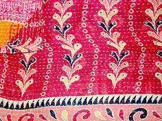 Vintage Kantha Throw - Kantha Collection