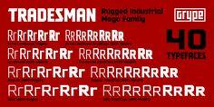 Tradesman™ - Webfont & Desktop font « MyFonts