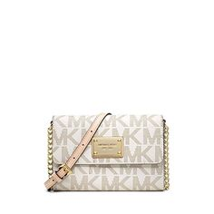 Michael Kors Jet Set Vanilla Large Phone Crossbody Bag 32T4GTTC3B NEW ** Want to know more, click on the image.