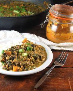 Black Eyed Peas Tikka Masala • Holy Cow! Vegan Recipes