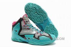 cheap for discount 1ab77 c62df Nike LeBron 11 Silver Jade Pink EKi6s, Price   76.00 - Jordan Shoes,Air  Jordan,Air Jordan Shoes