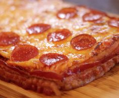 Bacon Wrapped Deep Dish Pizza