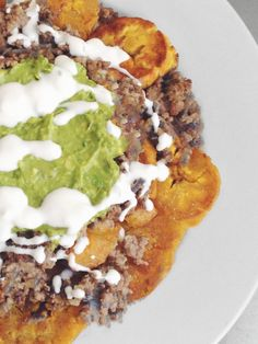 Loaded Nachos (Tostones) | Studio Snacks