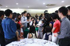 Dining Etiquette Workshop @ Nan Hua High School