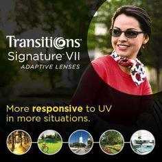 New Transitions Signature VII Lenses