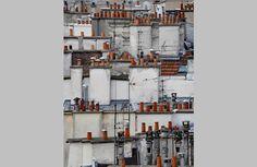 Michael Wolf, un paseo por las cubiertas parisinas -