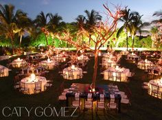 Night #weddingsetup