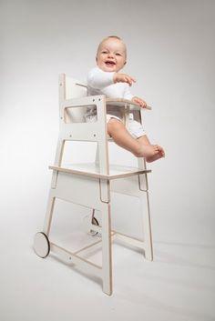 studio orijin convertible high chair/table set: