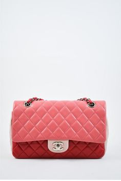 34bf64cc760a Chanel Pink and Red Single Flap Bag with Charms Chanel Pink, Charms,  Pendants