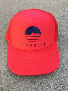Traveler Foam Trucker Hat