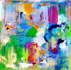 Abstract Art .. Sea Glass - Suz