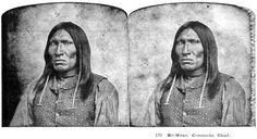 Ho-Wea (aka Gap In The Woods) - Yamperico Comanche - circa 1872