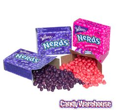 Just found Wonka Nerds Strawberry & Grape Candy Packs: 25-Piece Bag @CandyWarehouse, Thanks for the #CandyAssist!