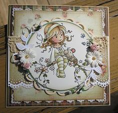 Sweet Blossom [SZWS103] - $8.50 : Whimsy Stamps