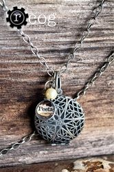 Hunger Games: Peetas Locket for Katniss.     %50 of the proceeds go to charity!  http://www.rheasrenditions.com/trendy-trinkets.html