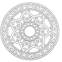 Free Printable Mandala Coloring Pages Adults Mandala Coloring Pages For Adults. Free Printable Mandala Coloring Pages Adults Mandala Valentin 1 Malas . Geometric Coloring Pages, Mandala Coloring Pages, Coloring Book Pages, Coloring Sheets, Kids Colouring, Fall Coloring, Mandalas Painting, Mandalas Drawing, Zentangles