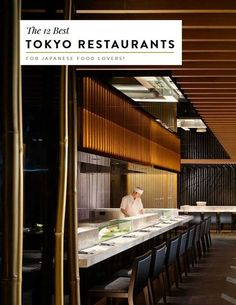 Space Guide Best Tokyo Restaurants - Where to eat in Tokyo for the best Japanese food - everything from katsu to udon and more! Sushi Bars, Deco Restaurant, Tokyo Restaurant, Open Kitchen Restaurant, Sushi Bar Design, Japanese Restaurant Design, Chinese Restaurant, Tokyo Food, Design Commercial
