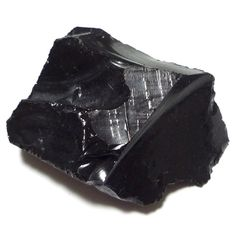 Black obsidian rough. Causes sands to be black