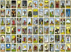 Trusted Tarot - card meanings