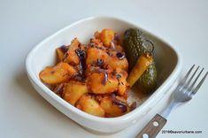 Cartofi taranesti cu ceapa si boia de post (1)