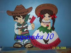 Eréndira y Andrés Christmas Art, Christmas Ornaments, Mexican Babies, Mexican Party, Art Projects, Diy And Crafts, Holiday Decor, Handmade, Painting