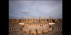 ruines de Leptis Magna tripoli