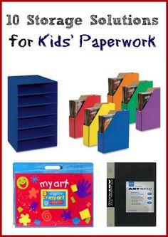 Organization Paperwork Track - 10 Storage Solutions for Handling Kid Paperwork. Paperwork Organization, Kids Room Organization, Organization Hacks, Frugal Tips, Kids Corner, Kid Spaces, Getting Organized, Storage Solutions, Super