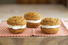 Pumpkin Whoopie Pies (Grain Free, Gluten Free) via Deliciously Organic