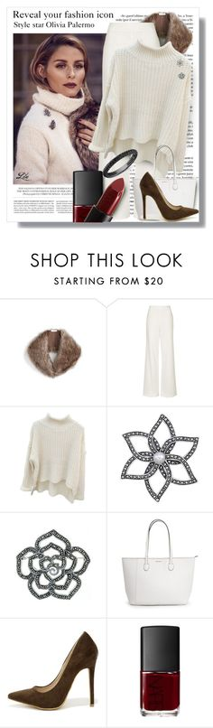 """Style Icon- Olivia Palermo"" by fashion-architect-style ❤ liked on Polyvore featuring Hemingway, Sole Society, Topshop, Lord & Taylor, Glitzy Rocks, Shoe Republic LA and NARS Cosmetics"