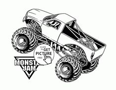 monster truck iron man coloring page for kids, transportation ... - Monster Jam Trucks Coloring Pages
