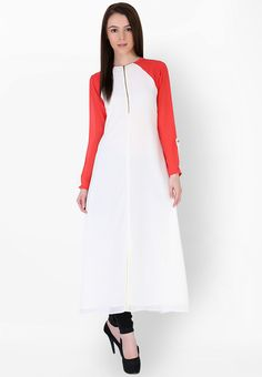 White Solid Kurti - Sugar Her Kurtas & kurtis for women | buy women kurtas and kurtis online in indium
