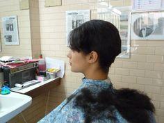 What a massacre man! Hair Color For Women, Short Hair Cuts For Women, Long Hair Cuts, Short Hair Styles, Girl Haircuts, Bob Hairstyles, Short Haircuts, Forced Haircut, Short Hair