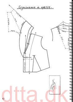 SYSTEM DTTA: PAGE 82 | Tailoring - patternmaking, cutting and sewing | THE DESIGN AND TECHNICAL TAILORING ACADEMY | TILSKÆRERAKADEMIET I KØBENHAVN (KBH)