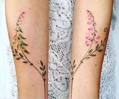 Für Romantikerinnen: filigrane Blumenranken