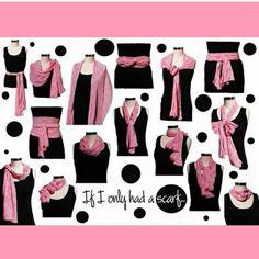 Como usar lenços #lenços #pashimina