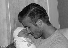 A beautiful man and a great dad too. Sigh...David & Harper Beckham