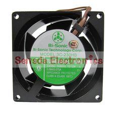 Brand new Bi-Sonic 3C-230HB 230VAC 80*80*38mm 15/12W 80mm case cooling fan