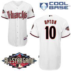 Custom Arizona Diamondbacks Jersey Customized White Cool Base All Star  Patch Men MLB Jerseys. Arizona Diamondbacks #nfl ...