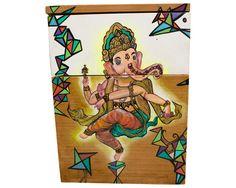 Gaveteiro Hindu pintado à mão | Interage Studio | Elo7