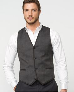 Wool Blend City Vest... buying this AS I TYPE!