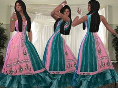 Pakistani fashion dress  http://www.thesimsresource.com/members/TrudieOpp/downloads/details/category/sims4-clothing-female-teenadultelder-everyday/title/pakistani-fashion-dress/id/1343869/