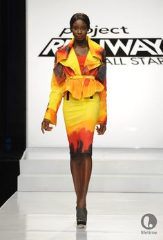 """Emilio Sosa - Project Runway All Stars...""""Wearable Art"""" Challenge: This was my favorite one!"""