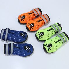 Set of 4 Cute Anti-Slip Warm Dog's Boots colors / 5 sizes) Pet Dogs, Dog Cat, Pets, Dog Booties, Cat Supplies, Westies, Little Dogs, Dog Accessories, Small Dogs