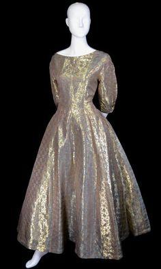 RARE Hattie Carnegie 1950s vintage dress