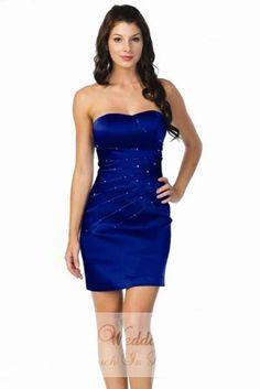 Tight navy blue dresses