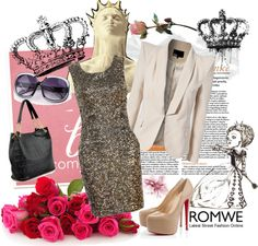 """""""Crown"""" by mariemvs ❤ liked on Polyvore"""