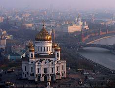 Catedral de Cristo Salvador de Moscú, Rusia