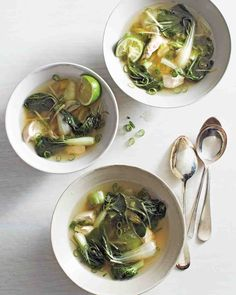 Bok Choy and Chicken Soup Recipe