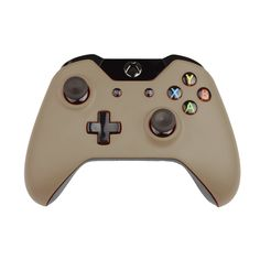 Custom Xbox One Controller Wireless Glossy Beige Gray